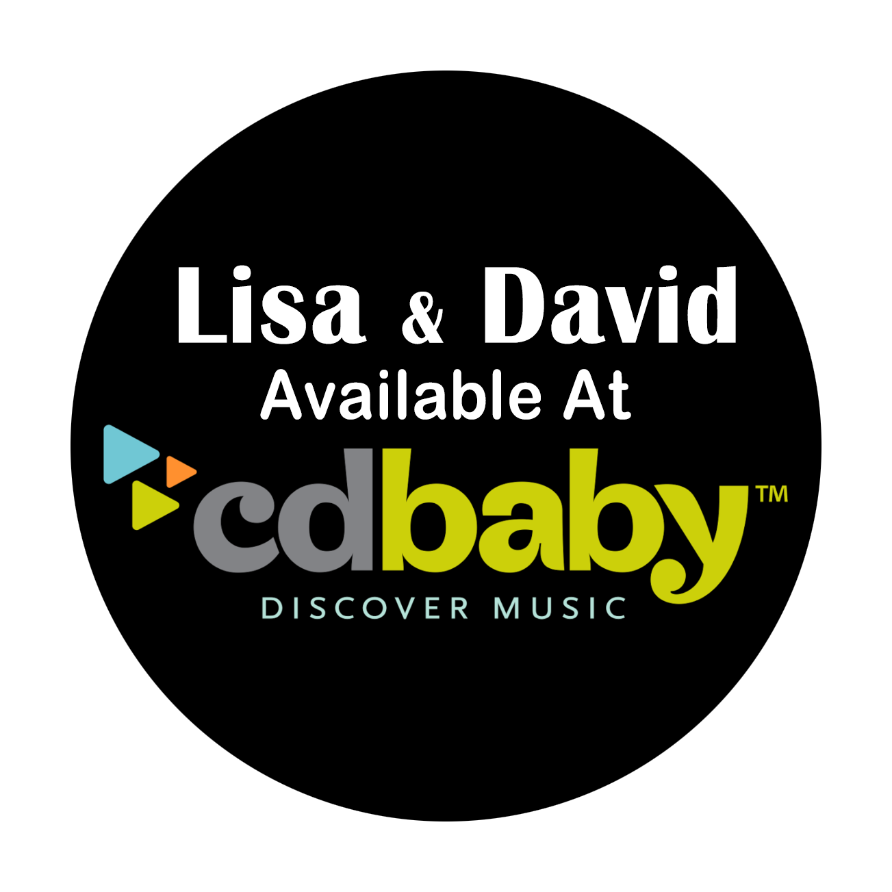 Lisa & David music available on CD Baby!